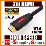 1.5m HDMI Cable V1.4 3D High Speed with Ethernet @ $1.95, 2M $2.95, 3M $4.95 Ltd to 200 Buyers