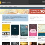Zondervan - up to 70% off eBooks (Bibles / Christian Literature)