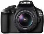 Canon EOS 1100D with 18-55mm lens for $398 at Harvey Norman