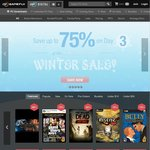 GameFly Digital Game Winter Sale - up to 75% off +Extra 20% off Coupon Code