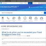 Free Top up 100% of Monthly Quota 3 Times a Year for Telstra Fixed Home Broadband Customers