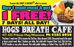 Been to Hog's Breath Cafe? Share your experiences!
