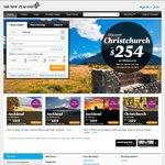 San Francisco Return ex Melb $844, Syd $860, Bris $860 (Las Vegas add $50) @ Air New Zealand