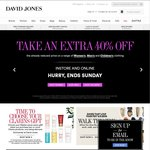 EXTRA 40% OFF Women's, Men's & Kid's Already Reduced Clothing @ David Jones. Clothing from $2.15