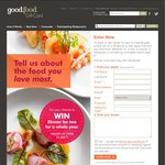 Win Dinner for Two for a Whole Year with Goodfood Gift Card
