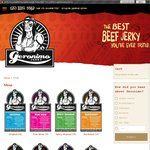 50% off Geronimo Jerky's 40g Bags of Jerky-Postage Fees Apply (See below)