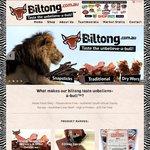 Biltong.com.au: 20% off = $44.80 for 1kg Traditional Biltong (Jerky) (Plus Max $10 Shipping)