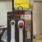 Arlec Flashing Red Armband 2pk $2.50 (Scanned Price, $5 Clearance) @ Bunnings [Mile End, SA]