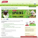 FREE Vegie Seeds When You Sign Up To Spring Challenge @ Yates