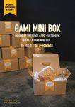 Free Mini Gami Chicken Box Perth (First 600)