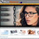 AusSpecs: Discount Complete Prescription Glasses - 20% off