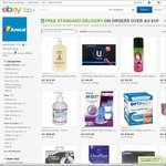 Free Standard Delivery on Orders over $10 (Minimum 2 Items) @ Amcal eBay