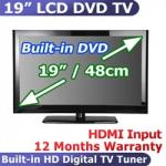 "19""/48cm LCD TV with FREE Inbuilt DVD Player $229 (Steal of the Day)"