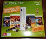 Xbox 360 Arcade $199 with Lips, Two Wireless Mics, Mass Effect, Banjo Kazooie and Halo 3