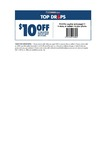 $10 off Spend over $50, w/Print Voucher to Use In-Store at First Choice Liquor