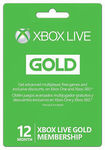 Microsoft Xbox LIVE 12 Month Gold Membership (Physical Card) - US$39.99 Delivered (~AU$52.42) @ Neogames eBay