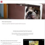 Save 15% When You Purchase a New Australia Post Pet Insurance Policy