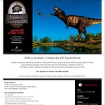 Win a Jurassic Creatures VIP Experience Worth $981 from West Australian Newspapers [WA]