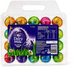 Cadbury 20 Pack Egg Crate 340g $5 (1/2 Price) in Store @ Big W