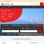QANTAS Rush Hour Sale ADE/BRS/CBR/MELB/SYD to Tokyo Return from $749
