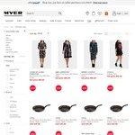 Myer Stocktake Sale Preview – Extra 10% off, Today Only