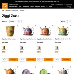 T2 Tea Sale - up to 40% off Ziggi Zazu teawares range