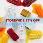 Storewide 15% off - Only @ Kiehl's Boutique (QVB, Sydney)
