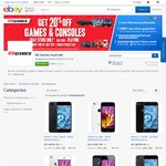 20% + 10% off Refurbished Apple & Samsung Phones/Tablets ($4.95 Delivery) @ EB Games eBay Store