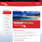 Rottnest Island (WA) $29 Same Day Return Ex Fremantle (Normally $79)