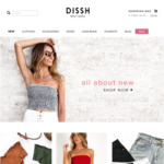 25% off Full Price Styles at Dissh Ends 22/10