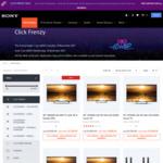 Sony Click Frenzy: KD43X8000E $899, KD49X8000E $999, BDV-N9200WB $599, MHC-V90DW $899 etc