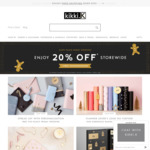 20% off Store Wide at kikki.K + Free Monogramming for Black Friday Weekend