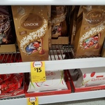 Lindt Lindor LE Assorted 585g $7.50 at Coles Belmont VIC