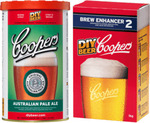 Coopers Home Brew, Aus Pale Ale + Brew Enhancer No.2. $18.00 (Members Offer) @ Dan Murphy's
