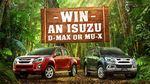 Win an Isuzu D-MAX Worth $59,350 or MU-X Worth $61,535 from Network Ten