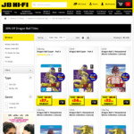 30% off All Dragon Ball DVDs & Blu-Rays (Madman) @ JB Hi-Fi