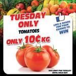 [QLD] Tomatoes $0.10/Kg @ Discount Fruit Barn Rothwell
