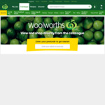 2000 Rewards Points (Worth $10) with Purchase of $100 EFTPOS Gift Card ($106.95) @ Woolworths