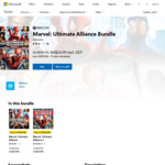 [XB1] Marvel: Ultimate Alliance Bundle (1 & 2) $24.99, Individually $14.99 Each @ Xbox Store