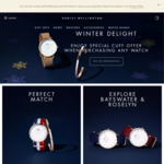 15% off Daniel Wellington Watches