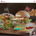 Halloumi PERi-PERi Burger, Wrap or Pita Plus a Regular Side @ Nando's $12 [Nationwide]