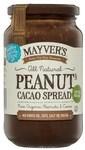 ½ Price Mayver's - Tahini Spread 385gm $2.63, Peanut & Coconut Spread 375gm $2.99, Coconut & Cacao Spread 240gm $4.25 @ Coles