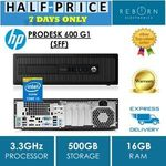 HP ProDesk 600G1 i5 4590/16GB/500GB HDD (Used) $247.50 ($240 with TAKE20) Delivered @ Reborn Electronics ebay