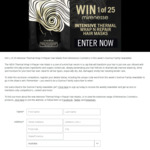 Win 1 of 25 Mirenesse Intensive Thermal Wrap N Repair Hair Masks Worth $16 from Seven Network