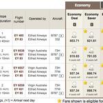 10% off Base Fares on Selected Flights @ Etihad