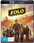 Solo: A Star Wars Story (4K Ultra HD + Blu-Ray + Bonus) $17 + Delivery (Free with Prime/ $49 Spend) @ Amazon AU