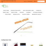 Store Opening Offer: Free Stainless Steel Straw (Value $4.95) with $50 Mininum Spending @ Live Life Green