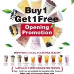[NT] Casuarina Opening - Buy One Get One Free (from Top 10 Drinks) @ Gong Cha