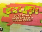 Buy 2 iTunes Cards And Get A 3rd One FREE! @The Good Guys