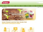 Free Packet Of Yates Seeds - Just Get 2 Friends To Join The Yates Garden Club